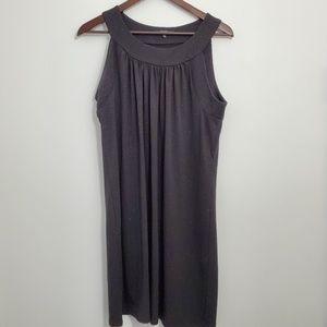 Onyx Nite Black Shimmer Mini Dress